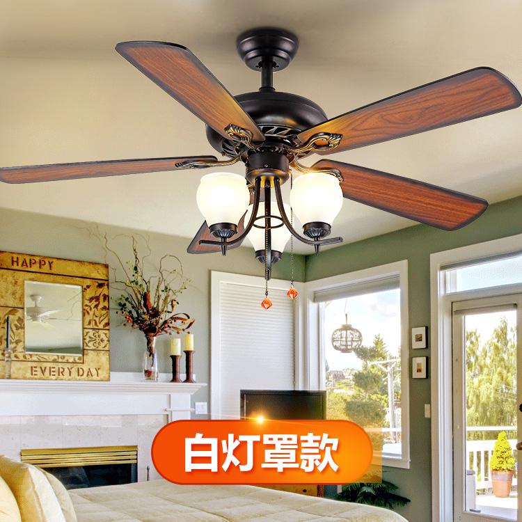 上海欧式木叶风扇灯