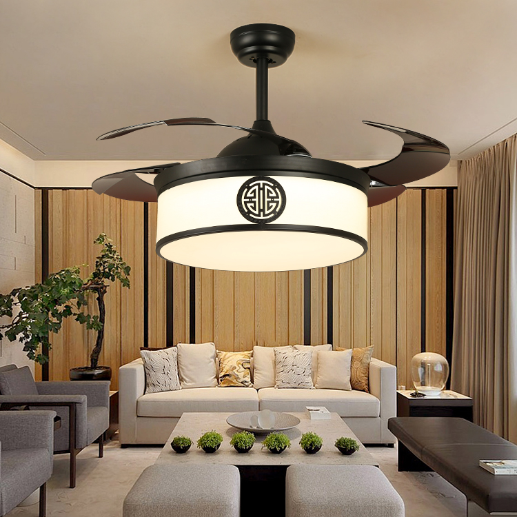 亚洲风格中式吊扇灯