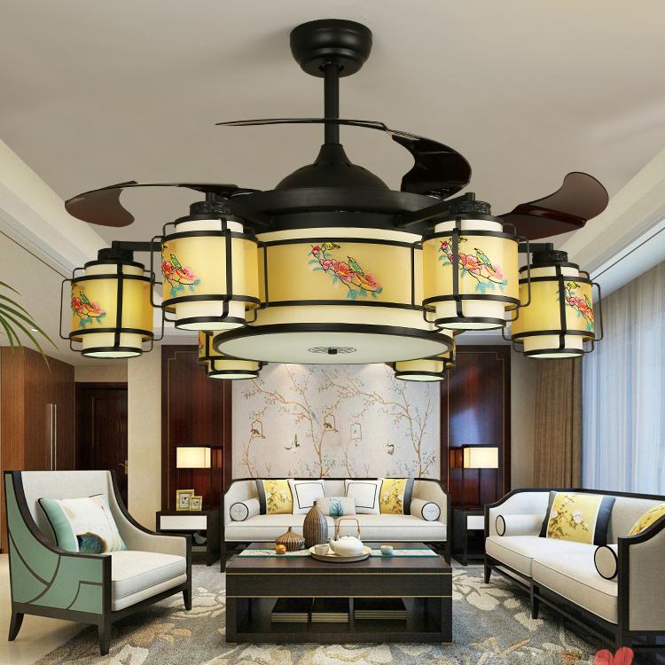 中式风格吊扇灯