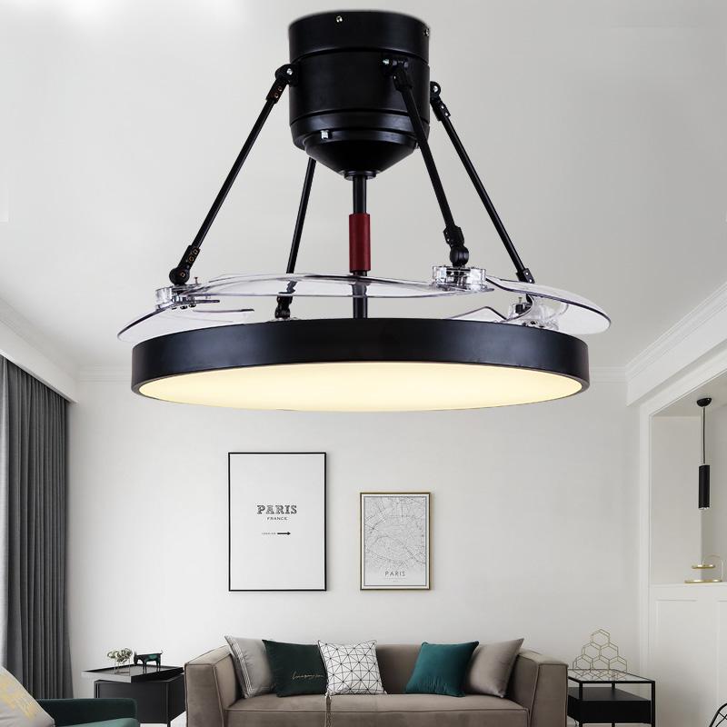 简约美式吊扇灯