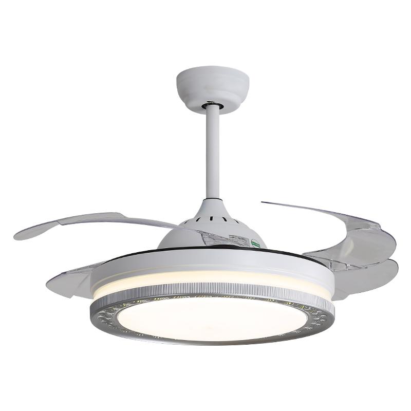 现代简约设计Y42130客厅卧室餐厅隐形吊扇灯