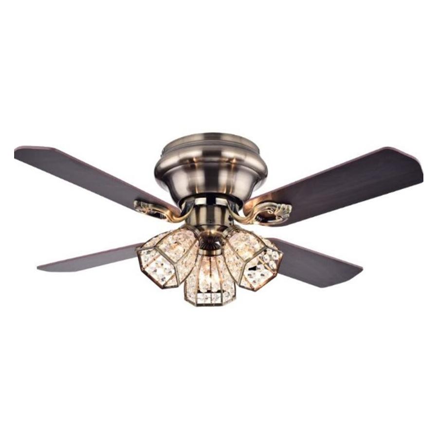 美式木艺风扇灯4222青古铜