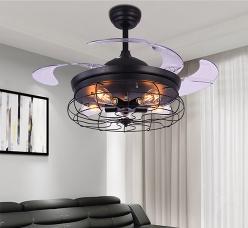 现代隐形风扇灯