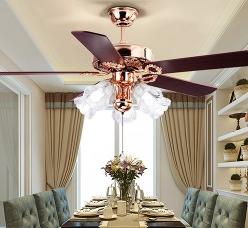 欧式客厅风扇灯