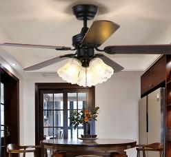 美式家用风扇灯
