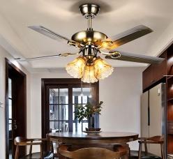 智能LED风扇灯