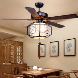 新中式餐厅风扇灯