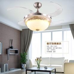 欧式风扇吊灯如何安装?