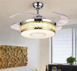 吊扇灯厂家具备了风扇的造风功能和灯具的照明功能