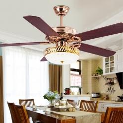 美式复古风扇灯