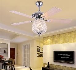 使用欧式风扇灯的好处,你知道有几个?