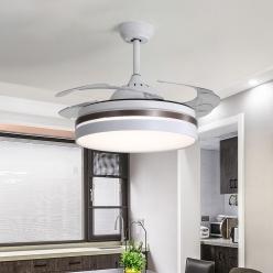 欧式隐形风扇灯不仅实用还能成为装饰品