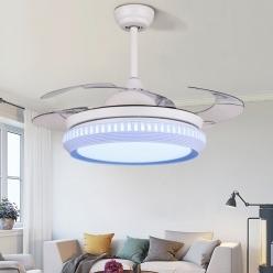 风扇灯变成时尚的家居装饰