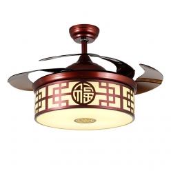 传统图型中式现代简约8850隐形吊扇灯