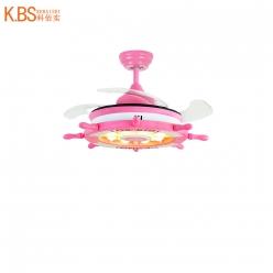 简约Y8840儿童吊扇灯现代时尚简约隐形吊扇灯