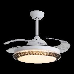 设计独特多种款式可选现代工艺时尚简约隐形吊扇灯