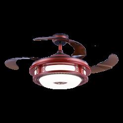 中式风4231造型设计结合现代时尚风隐形吊扇灯