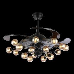 北欧风时尚简约款Y42184隐形吊扇灯客厅